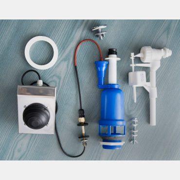 Фото 3 - Система смыва для туалета с педальным приводом, боковой подвод.